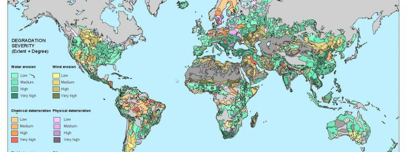 GLASOD map