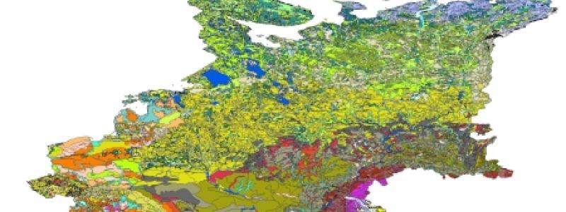 Mapping Of Soil And Terrain Vulnerability In Central And Eastern - Europe terrain map