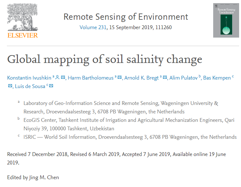Global mapping of soil salinity change | ISRIC on global accounting, global manufacturing, global development, global advertising, global infrastructure, global security, global statistics, global engineering,