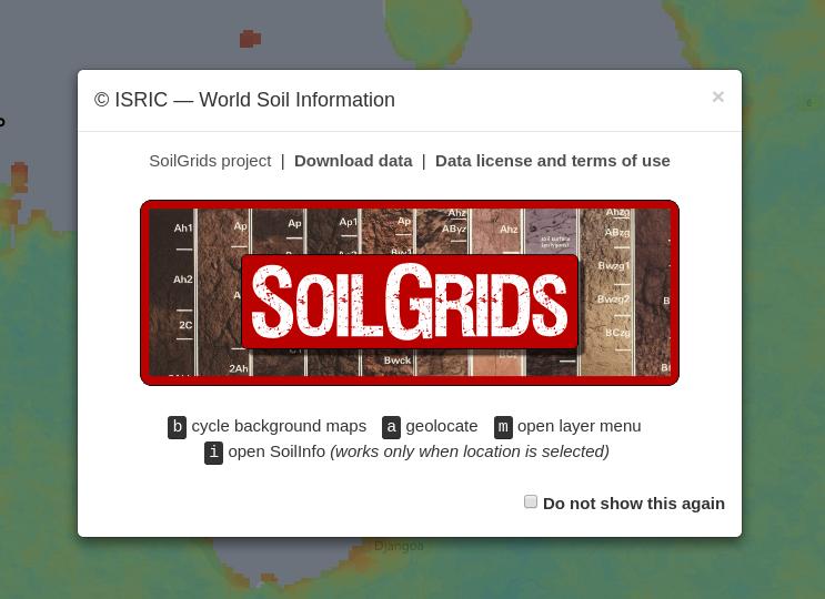 SoilGrids — global gridded soil information | ISRIC
