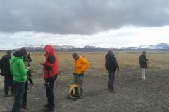 Field trip during the 2nd training on Stakeholder interaction (Gunnarsholt, Iceland)
