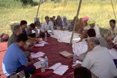 Assessing degradation and conservation together with stakeholders