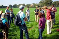 Field trip during the 1st training on Stakeholder interaction (Eibergen, NL)