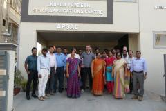 Training course in digital soil mapping in Vijayawada, India