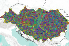 Collection of soil data in SOTER format from 14 Danube strategy countries, at scale 1:250 000