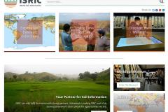 Front page New ISRIC website